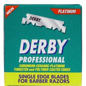 Derby Scheermesjes Plat - Profesyonel (100 mesjes) 8690885200026