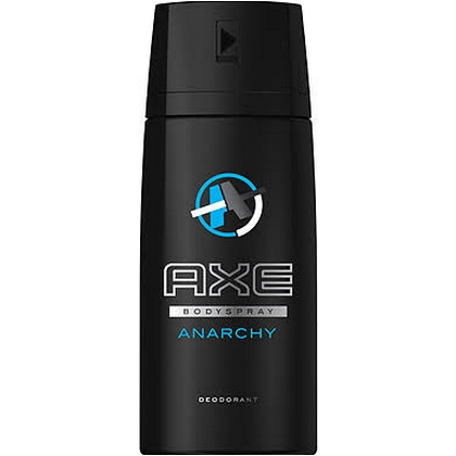 Axe Deospray Anarchy 150 ml 8712561249393