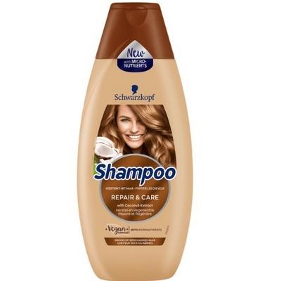 Schwarzkopf shampoo repair en care 400 ml 5410091747602