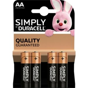 Duracell Simply AA 5000394002241