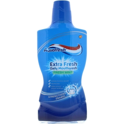 Aquafresh Mondwater Extra Fresh 500 ml 5000347054303