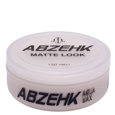 Abzehk Wax Matte Look 150ml 8697426871554
