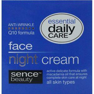 Sencebeauty gezichtscrème nacht