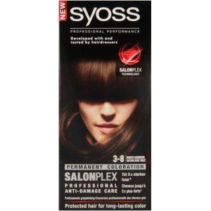 Syoss Haarverf 3-8 Donker Goudbruin