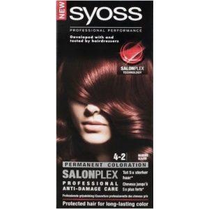 Syoss Haarverf 4-2 Mahonie