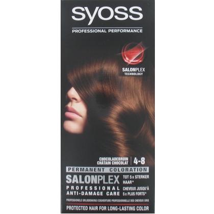 Syoss Haarverf 4-8 Chocolade Bruin