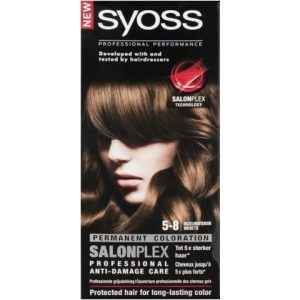 Syoss Haarverf 5-8 Hazelnootbruin