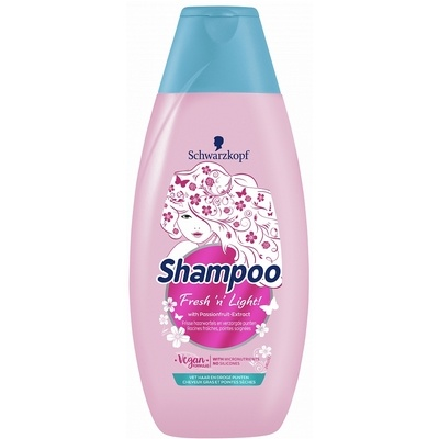 Schwarzkopf Shampoo Fresh 'n Light 400ml 5410091747664