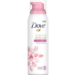 Dove Shower Mousse Rose Oil 8710447280065