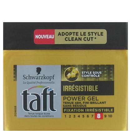 Taft Haargel Irresistible Power Gel 250 ml 3178041320221