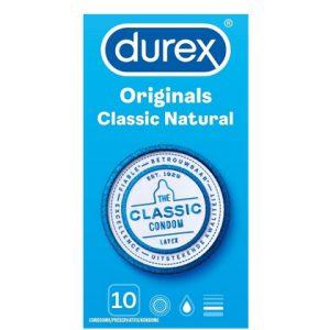 Durex Condooms Classic Natural 10st 5410036305553