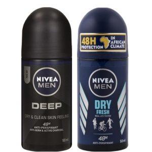 Assortiment Nivea Deodorant rollers: 27 referenties!