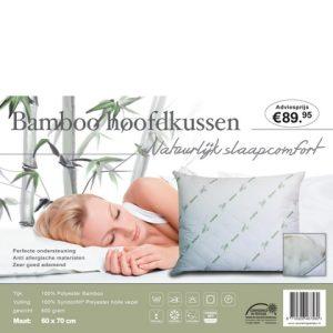 Hoofdkussen Bamboo 60 x 70 - 8719326467580