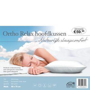 Hoofdkussen Ortho Relax 60 x 70 - 8719326467597