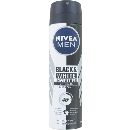 Nivea Deospray Invisible Black & White 150 ml 4005900088215