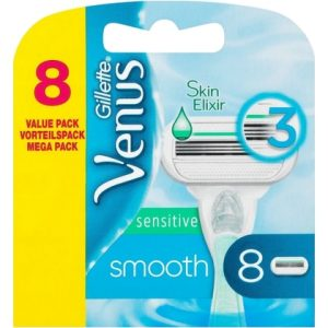 Gillette Venus Sensitive Smooth 8 mesjes 7702018491483