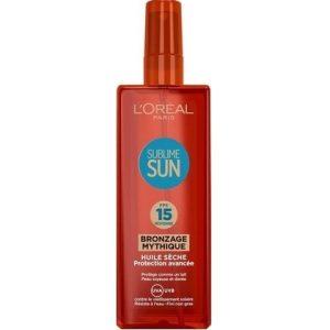 L'Oreal Zonnebrand Sublime Sun SPF15 3600522679912