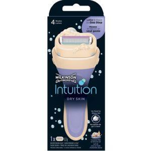 Wilkinson Houder Intuition Dry Skin Coconut & Almond + 1 mesje 4027800516162