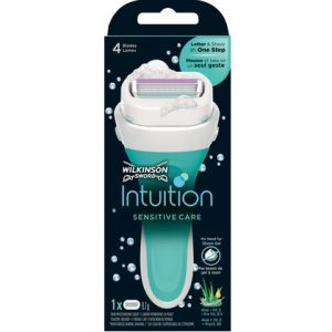 Wilkinson Houder Intuition Sensitive Care Aloevera + 1 mesje 4027800816071