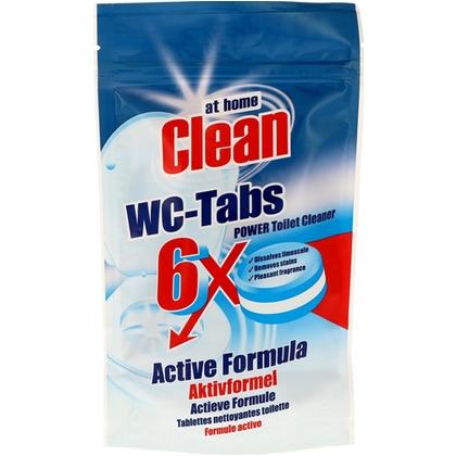 At Home Clean WC-Tabs 6 stuks 8718924873175