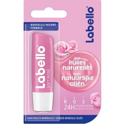 Labello Soft Rosé 4,8 gr 4005900557667