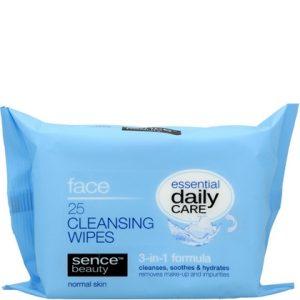 Sencebeauty Gezicht reinigingsdoekjes normale huid 8719497839315