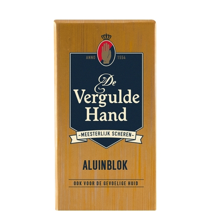 De Vergulde Hand Aluinblok 75 gr 8714319193583