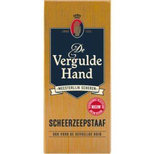 De Vergulde Hand Scheerzeepstaaf 75 gr 8714319193613