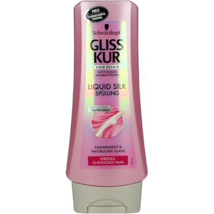 Gliss Kur Conditioner Liquid Silk 200 ml 4015000985161