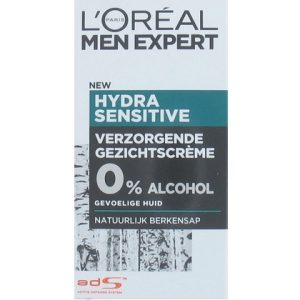 L'Oreal Men Expert Hydra Sensitive gezichtscreme 3600521602836