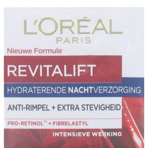 L'Oreal Nachtcreme Revitalift Anti Rimpel 50 ml 3600521463710