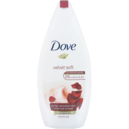 Dove Douchegel Velvet Soft 500 ml 8712561727235