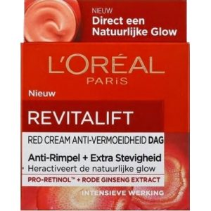 L'Oreal Dagcreme Revitalift Anti-Rimpel + Extra Stevigheid 50 ml 3600523716449