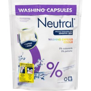 Neutral Wasmiddel Capsules Colour 8710908232732
