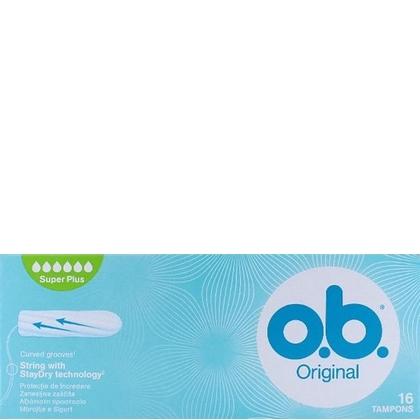 OB Tampons Original Super Plus 16 stuks 3574660089356