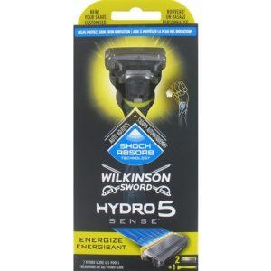 Wilkinson Houder Hydro 5 Sense Energize + 2 mesjes 4027800038831
