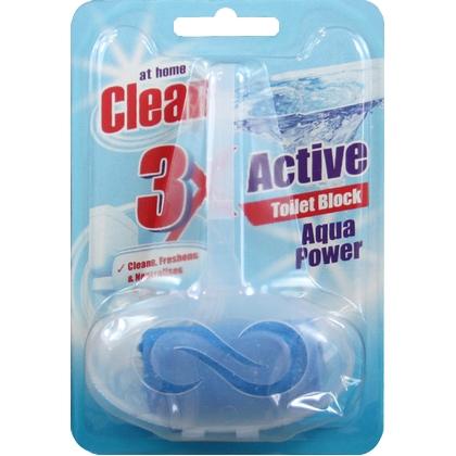 At Home Clean Toiletblok Aqua Power 40 gr 8719874192835