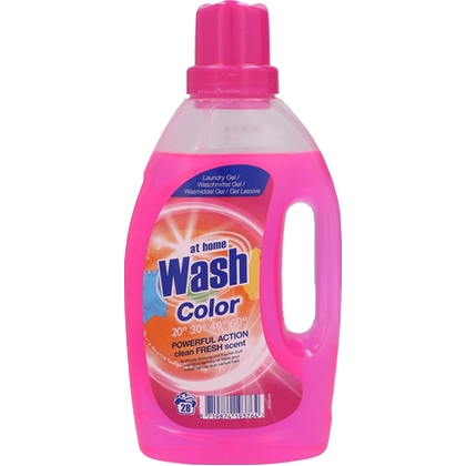 At Home Vloeibaar Wasmiddel Color 1L 8719874193764