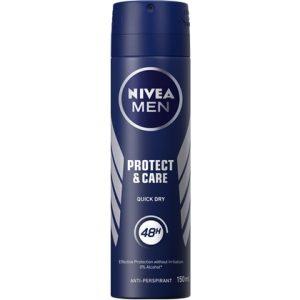 Nivea Deospray Men Protect & Care 150 ml 4005900250964