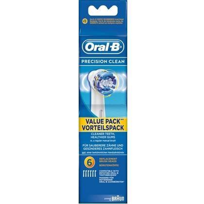 Oral-B Opzetborstel Precision Clean 6 stuks 4210201848318