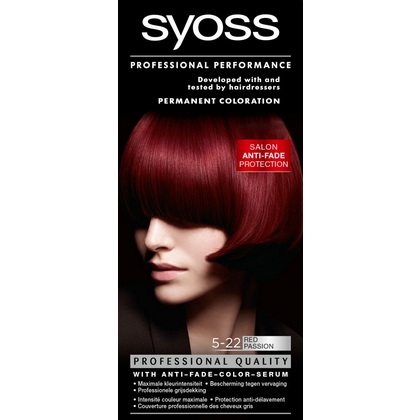 Syoss Haarverf 5-22 Red Passion 5410091728687