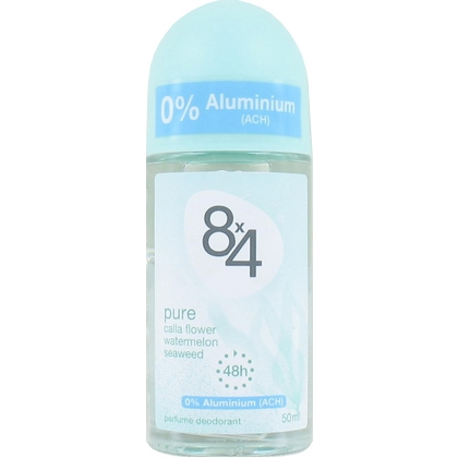 8 x 4 Deo Roll-on Pure 50 ml 42300014