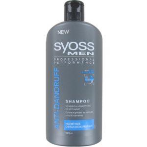 Syoss Shampoo Men Anti Roos 500 ml 5410091732202