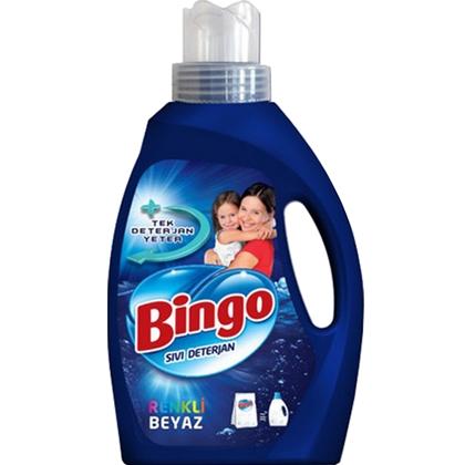 Bingo Vloeibaar Wasmiddel Wit & Kleur 2145 ml 8690536903757