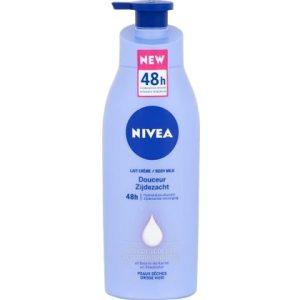Nivea Bodymilk Zijdezacht met Pomp 400 ml 4005900441171