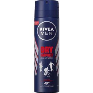 Nivea Deospray Men Dry Impact 150 ml 4005900457271