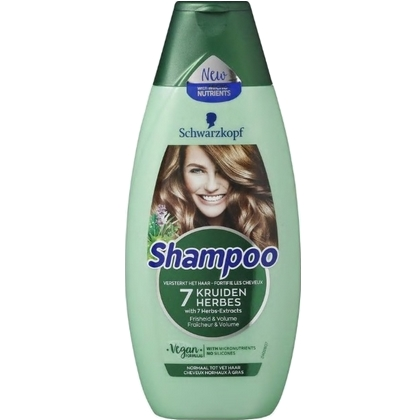 Schwarzkopf Shampoo 7 Kruiden 400 ml 5410091747565
