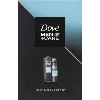 Dove Geschenk Men Care Clean Comfort Douchegel + Deospray 8717163707913