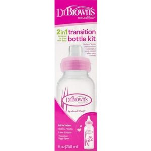 Dr. Browns Transition Fles Roze 250 ml 072239309582