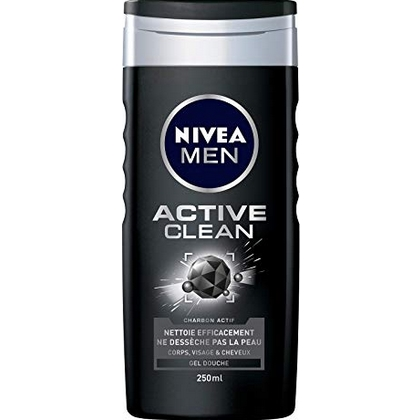 Nivea Douchegel Men Active Clean 250 ml 4005900127013